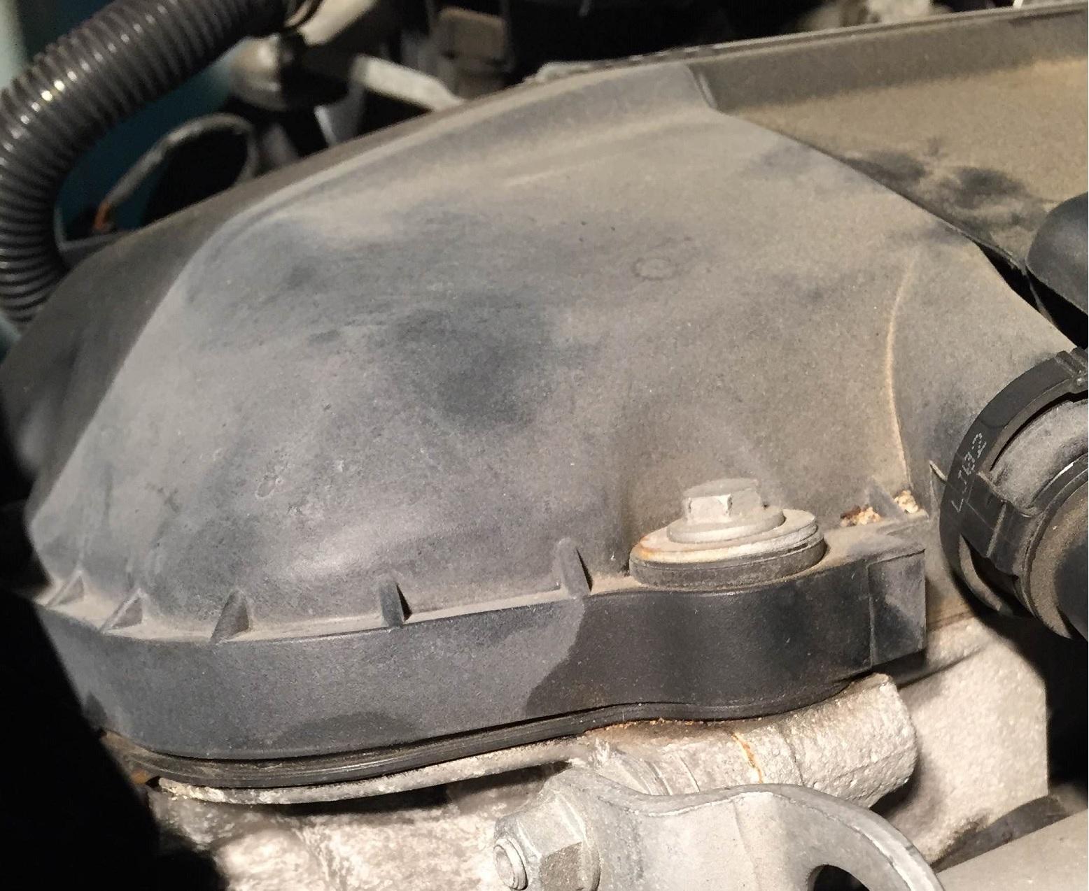 bmw e60 cracked exhaust manifold symptoms