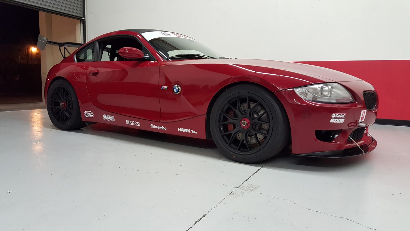 Coupe Series bmw z4 m coupe for sale 2007 BMW Z4M Coupe Track/Race Car