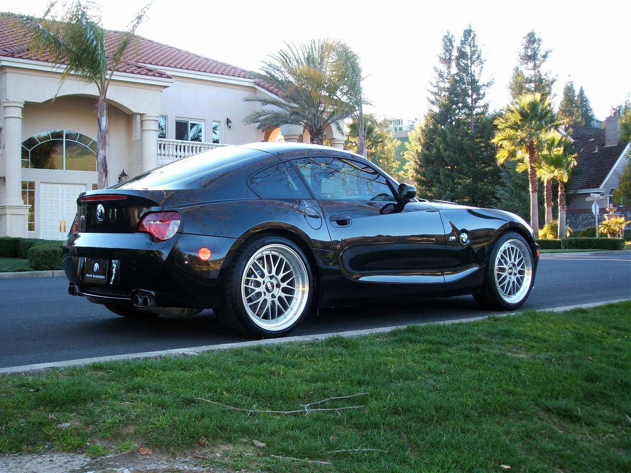 Pics Black Z4m Coupe W Bbs Lm S Bimmerfest Bmw Forums