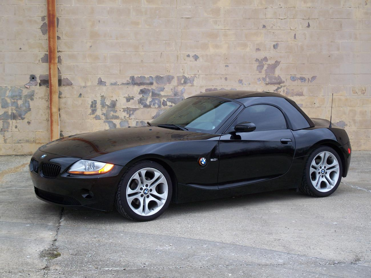 2003 bmw z4 3.0 all options, warranty until 2010, hard-top ...