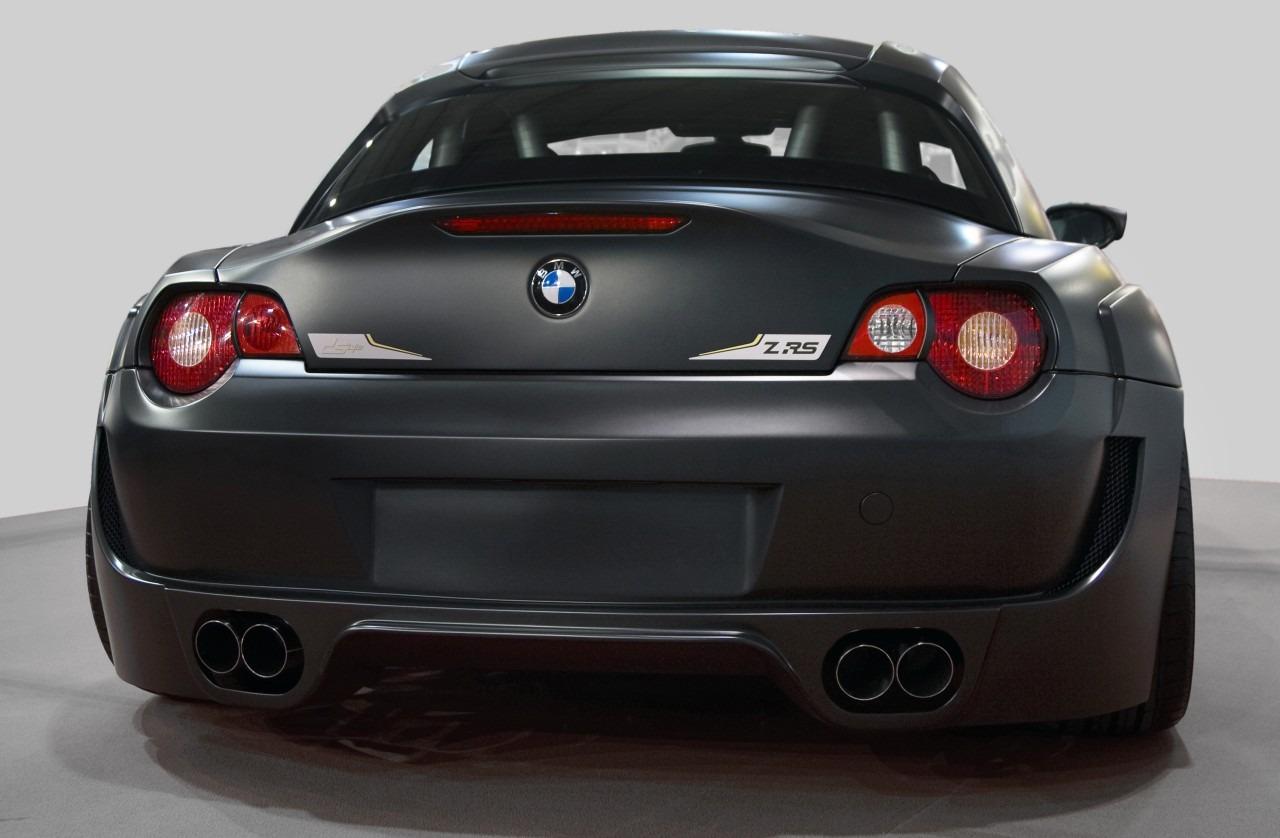 Carbon Black Z4 M Coupe