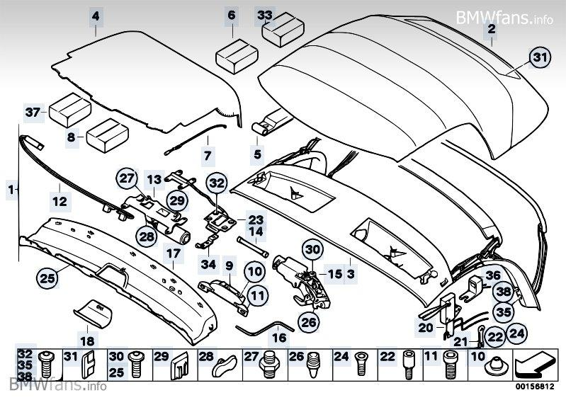 Bmw Z4 Roof Motor Diagram - Wiring Diagrams Show bmw e46 convertible parts diagram 129.weo.micky-bruns.de