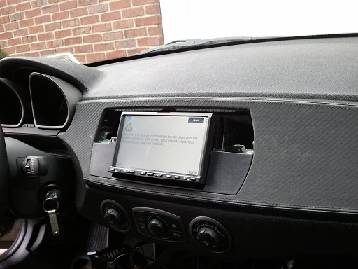 Double Din in the Z4... maybe...