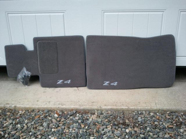 Fs Brand New Bmw Z4 Plush Floor Mats 60 W Free Shipping