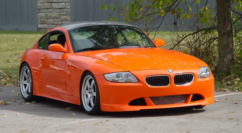 Carbon Fibre Z4 Coupe And Z4 Roadster From Tc Kline Racing