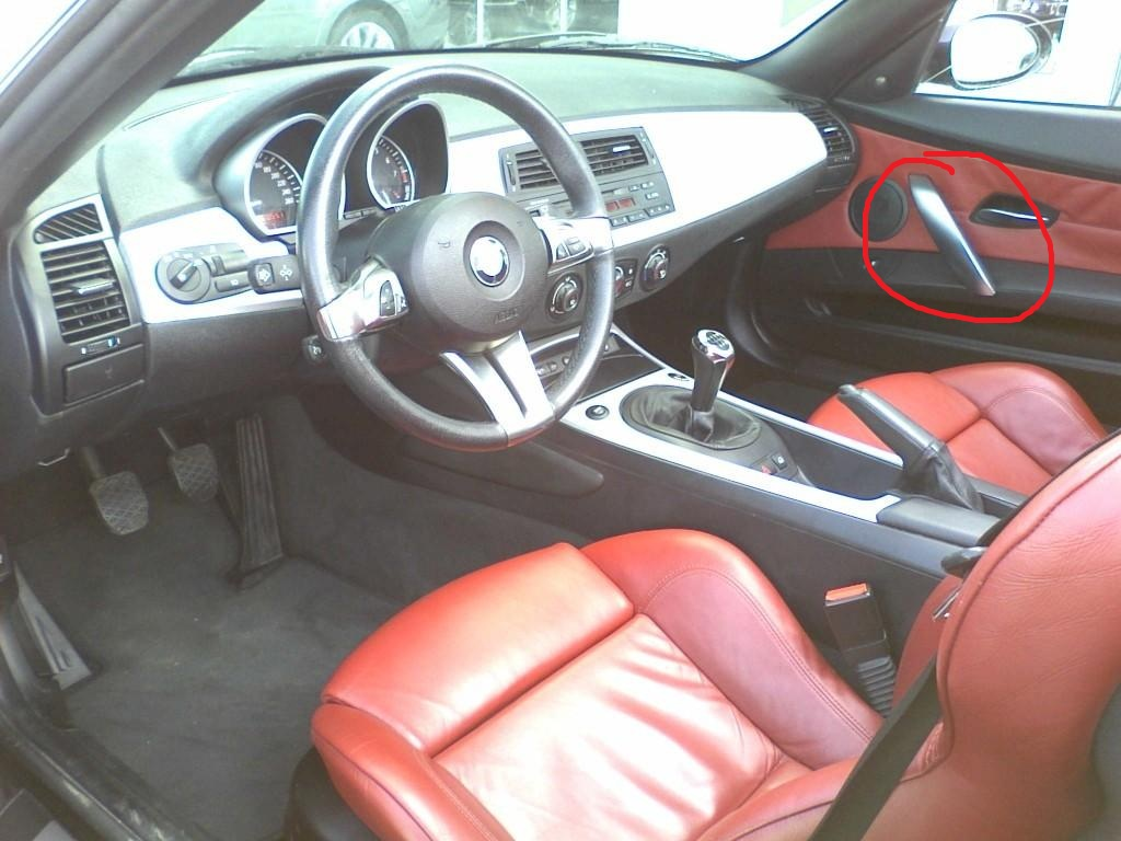 Wtb Bmw Z4 E85 6 Interior Door Handle Trim