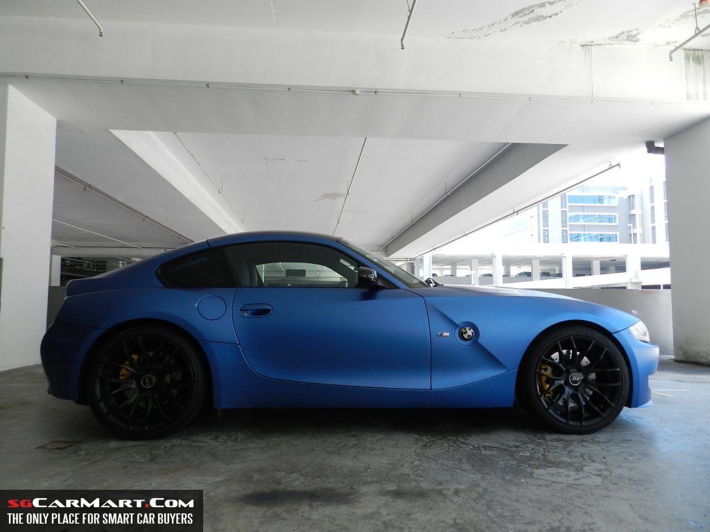 Midnight Blue And Estoril Blue Z4m Coupes