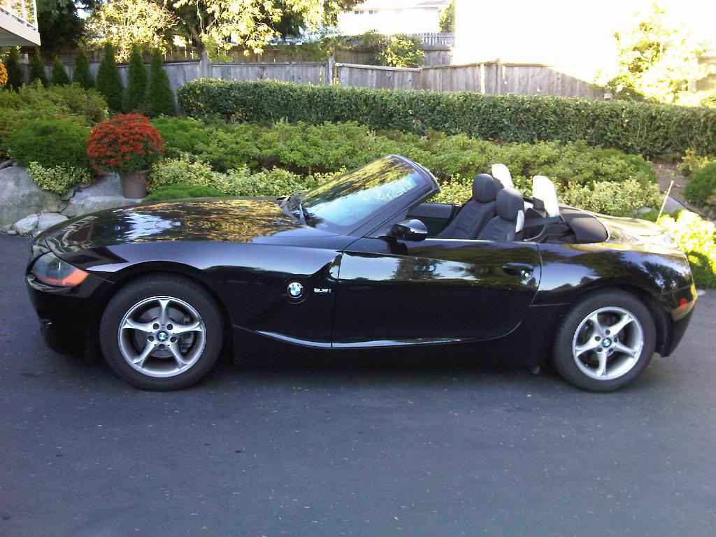 Fs 2003 Bmw Z4 2 5i Roadster Black On Black